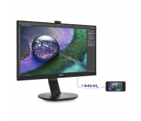 "LED IPS 27""272P7VPTKEB/004K UHD 3840x2160 80M:1(typ 1300:1)350cd 178/178 5msVGA/DP/miniDP/HDMI(MHL)/3xUSB3.0/DPout,Speakers 2x2W PIVOT HAS 150,c:Black"