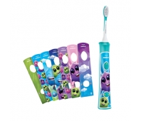 Philips Sonicare For Kids Sonic electric toothbrush HX6321/04 Built-in Bluetooth® Coaching App 1 brush head 2 modes