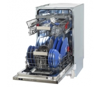 WHIRLPOOL Dishwasher WSIO3T223PCEX A++, 45 cm, Powerclean PRO, Third basket, 7 programs