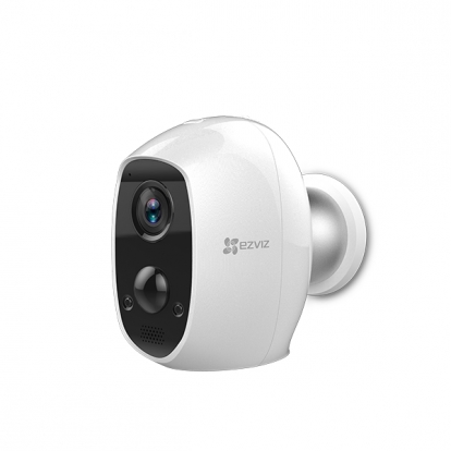 Wire-Free Camera EZVIZ C3A - 2MP/PIR/Night Vision 25ft/125° FOV/two way talk/128GB TF/IP65/5500 mAh 3 month standalone or 9 month with Station