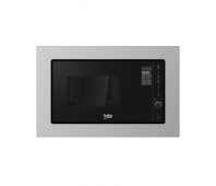 BEKO microwave MOB20231BG/MOK20232X, Built in, 20 L, Inox/Black color