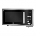 BEKO Microwave MOF23110X, 800W, 23L, Inox/Black color