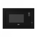 BEKO Microwave MGB25333BG, 900W, 25L, BUILT-IN, Auto-weight Defrost, Black/Black color