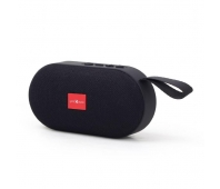 Gembird portable Bluetooth speaker, 3W, micro SD, USB, black
