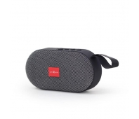 Gembird portable Bluetooth speaker, 3W, micro SD, USB, grey