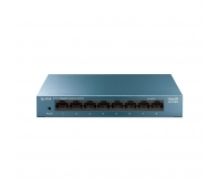 TP-Link LS108G LiteWave 8-Port Gigabit Desktop Switch, 8 Gigabit RJ45 Ports