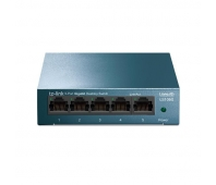 TP-Link LS105G LiteWave 5-Port Gigabit Desktop Switch, 5 Gigabit RJ45 Ports