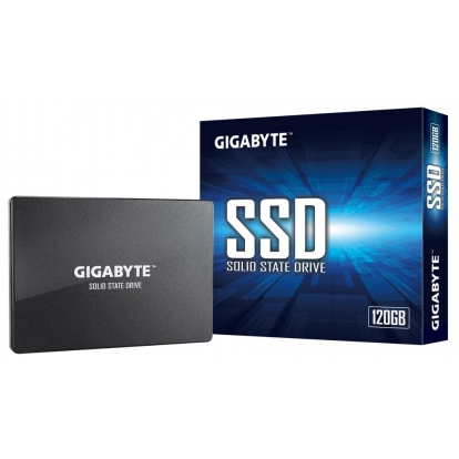 SSD|GIGABYTE|120GB|SATA 3.0|Write speed 280 MBytes/sec|Read speed 350 MBytes/sec|2,5"