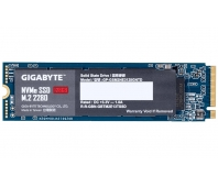 SSD|GIGABYTE|128GB|M.2|PCIE|NVMe|Write speed 550 MBytes/sec|Read speed 1550 MBytes/sec|MTBF 1500000 hours|GP-GSM2NE3128GNTD