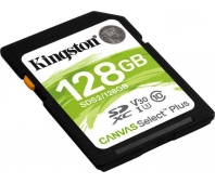 KINGSTON 128GB SDHC SELECT 100R CL 10 UHS-I