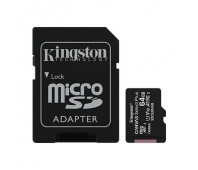 KINGSTON 64GB MICROSDHC CANVAS SELECT PLUS 100R
