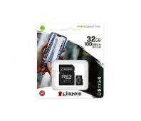KINGSTON 32GB MICROSDHC CANVAS SELECT PLUS 100R