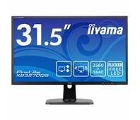 "LED IPS 31.5"" XB3270QS-B1 WQHD 2560x1440 5M:1 (typ 1200:1) 250cd 178/178 5ms DVI/DP/HDMI/2xUSB3.0 SPK 2x3W HAS C:Black"