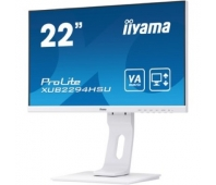 "ProLite LED VA 21.5"" XUB2294HSU-W1 FHD 1920x1080p 16:9 80M:1 (TYP 3000:1) 250CD 4ms 178/178 VGA/DP/HDMI SPK 2x1W PIVOT HAS C:WHITE"