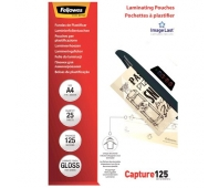 LAMINATOR POUCH GLOSSY/A4 125 25PCS 5396301 FELLOWES