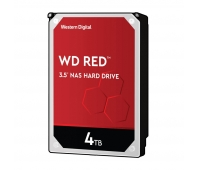 WD Red 4TB SATA 6Gb/s 256MB Cache Internal 8.9cm 3.5Inch 24x7 IntelliPower optimized for SOHO NAS systems 1-8 Bay HDD Bulk