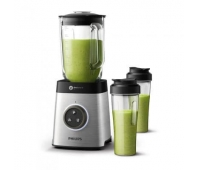 Philips Avance Collection Blender HR3655/00 1400 W ProBlend 6 3D 1.8L glass jar 2 tumbler jars