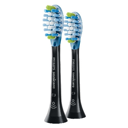 Philips Sonicare C3 Premium Plaque Defence Standard sonic toothbrush heads HX9042/33 2-pack Standard size