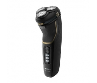 Philips Shaver series 3000 Wet or Dry electric shaver, Series 3000 S3333/54 5D Pivot & Flex Heads PowerCut Blades Travel pouch Charging stand