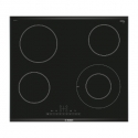 BOSCH Electric Hob PKF675FP1E 60 cm, Digital display, 1 double size hob, DirectSelect, PowerBoost, Black