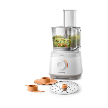 Philips Daily Collection Compact Food Processor HR7310/00 700 W 16 functions 2-in-1 disc In-bowl storage