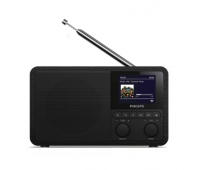 Philips Internet Radio TAPR802/12, Spotify, DAB and FM, 3W, Black
