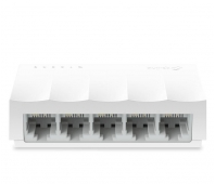 TP-LINK LiteWave 5-Port 10/100M Desktop Switch 5 10/100M RJ45 Ports Desktop Plastic Case
