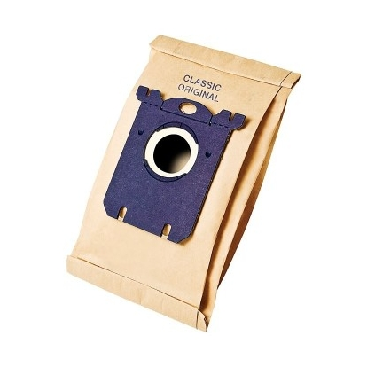 Philips s-bag Vacuum cleaner bags FC8019/01 5 x dust bags One standard fits all Paper bag Hygienic closing system