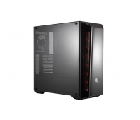 Cooler Master Masterbox MB520 MCB-B520-KANN-S00 Side window, Black/Red, ATX, Power supply included No