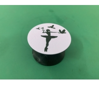 Pop-sockets stands for smartphones and tablets Ballerina (Pink)