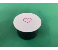 Pop-sockets stands for smartphones and tablets Pink Heart (Pink)