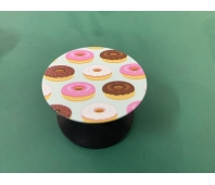 Pop-sockets stands for smartphones and tablets Small Doughnut˙s (Pink and brown)