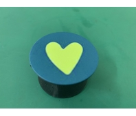 Pop-sockets stands for smartphones and tablets Yellow Heart (Yellow)