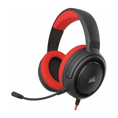 CORSAIR HS35 Stereo Gaming Headset Red