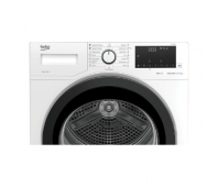 BEKO Dryer DF7439SX A++, 7kg, Depth 46 cm, Heat Pump, Digital Display