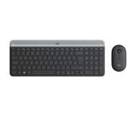 LOGITECH Slim Wireless Keyboard and Mouse Combo MK470 - GRAPHITE - US INTNL - INTNL