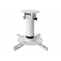 TECHLY 022274 Techly Universal projector ceiling mount 20 cm, 15 kg, white