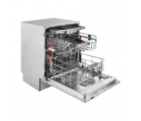 WHIRLPOOL Built-In Dishwasher WIC 3C33 PFE, Energy class D (old A+++), 60 cm, Powerclean PRO, Third basket, 8 programs
