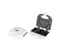 ECG S 3271 Sandwich maker, 750W, Suitable for preparing 2 triangle toasts sandwiches