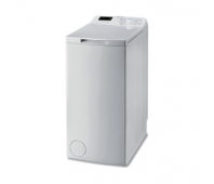 INDESIT Top load washing machine BTW S60300 EU/N, Energy class D (old A+++), 6kg, 1000 rpm, Depth 60 cm, LED screen