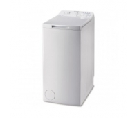 INDESIT Top load washing machine BTW L60300 EE/N, Energy class D (old A+++), 6kg, 1000 rpm, Depth 60 cm