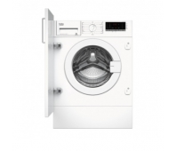 BEKO Built In washing machine WITC7612B0W 7 kg, 1200 rpm, Energy class C (old A+++), Depth 55 cm big LED screen