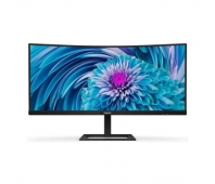 "PHILIPS 346E2CUAE 34"" UWQHD VA CURVED HAS USB-C/DP/HDMI PD 65W"
