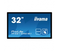 """32"""" PCAP 30-Points Touch Screen, 1920x1080, AMVA3 panel, 24/7 operation, VGA, HDMI, 500cd/m² and 460cd/m² with touch panel, 3000:1, 8ms, Landscape"""