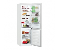INDESIT Refrigerator LI9 S1E W, Energy class F (old A+), height 201cm, White color