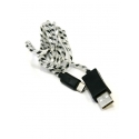 LED USB to Type-C cable T-UC14 (Black)