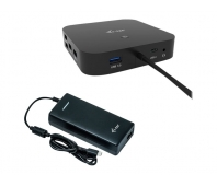 I-TEC USB-C Dual Display MST DS 2x DP 1x GLAN 3x USB 3.1 2x USB 2.0 1x USB-C-DatA 1x Audio/Mic Jack 1x 100W USB-C PD + Charger 112W