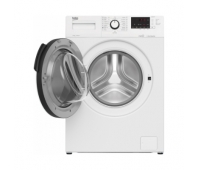 BEKO Washing machine WUE7612XST 7 kg, Energy class D (old A+++), 49 cm, 1200 rpm, Inverter motor, Steamcure