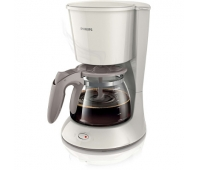 Philips Daily Collection Coffee maker HD7461/00 With glass jug White, damaged package