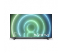 """Philips 4K UHD LED Android™ TV 50"""" 50PUS7906/12 3-sided Ambilight 3840x2160p HDR10+ 4xHDMI 2xUSB LAN WiFi DVB-T/T2/T2-HD/C/S/S2, 20W"""